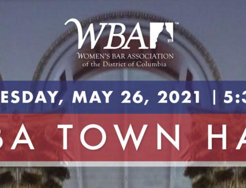 WBA Hosts Town Hall